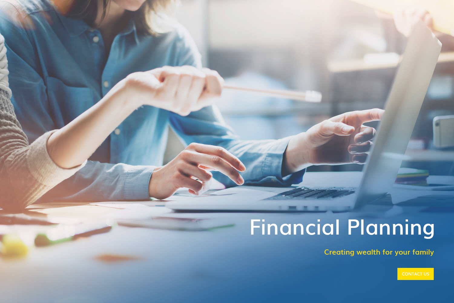 Gunn accounting providing you with financial planning - creating wealth for you and your family